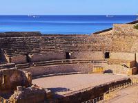 TARRAGONA - Rzymski Amfiteatr nad brzegiem morza