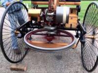 Benz Patent-Motorwagen - pierwszy automobil skonstruowany przez Karla Benza