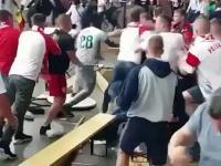 Brutalna tuča navijača Poljske i Senegala