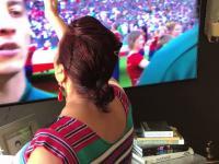 Kiedy twoja religijna babka ogląda mecz na mundialu