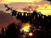 Piękne wieczorne niebo