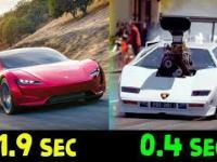 kompilacja 0-100 km/h