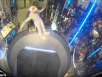 Taniec w komorze wiatrowej Maja Kuczyńska z Polski