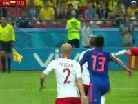 Polacy przegrali z Kolumbią