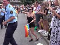 Policja w Szwecji vs policja w Rosji