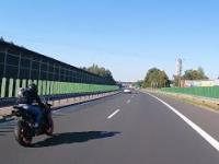 Szalony motocyklista