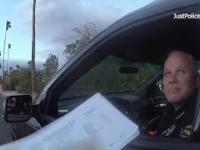 Policjant z USA zatrzymuje do kontroli swojego szefa