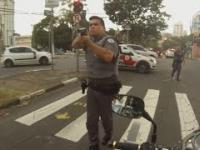 Przerąbane życie motocyklisty w Brazylii...