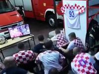 Chorwaccy strażacy przed decydującym karnym