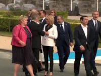 Jean-Claude Juncker na spotkaniu NATO 2018