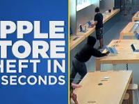 Okradli Apple Store w kilka sekund