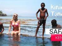 Kenia Afryka. Safari, wioska Masajów.