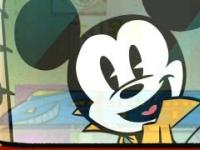 Myszka Mickey w stylu Cartoon Network