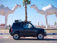 20 000 km przez Afrykę w seryjnym Suzuki Jimny
