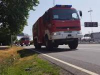 44 wozy strażackie jadą przez Szwecję by pomóc gasić pozary
