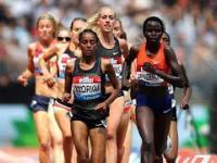 Błąd biegaczki Ligi Diamentowej w Londynie.