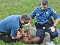 10-cio latek sprowadzony na ziemię przez policjantów