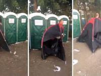 Najlepszy sposób na pilnowanie namiotu podczas festiwalu