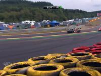 Wypadek w Lamborghini Super Trofeo na torze w Spa-Francorchamps