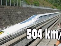 504 km/h pociągiem
