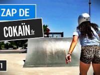 Jak zjechać na rękach na zjeżdżalni, czyli Le Zap de Cokaïn.fr n°061