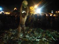 Woodstock Polandrock Festiwal - Przebudzenie Golema Śmieciowego Haribol