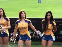 Cheerleaderki meksykańskiego zespołu Tigres