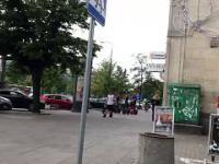 Gość po dopalaczach... chyba, ul. Marszałkowska, Warszawa