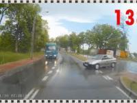 Taxi nie zważa na rowerzystę, czyli kompilacja Polscy Kierowcy 138