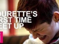 Pięć osób z Tourettem spotyka się po raz pierwszy