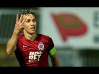 Perfekcyjny gol Surala z rzutu wolnego