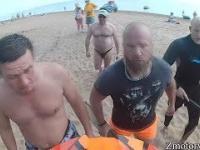 Wściekli Ludzie Atakują Motocyklistów 3 - Szalony Farmer Atakuje, Janusze na Plaży