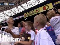 Co się może zdarzyć, kiedy zabierzesz dzieci na mecz piłki nożnej?