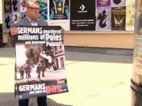 Warszawski ratusz ukarał artystę za plakaty o zbrodniach niemieckich