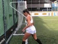 Piłkarski trik na wysokim poziomie