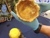 67 kg kokainy przechwyconej w ananasach