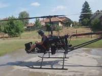 Węgierski helikopter - wersja amatorska