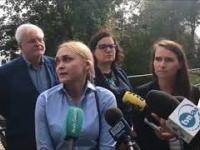 ABSOLUTNE ZŁOTO Kandydatka PO do Rady Miasta w Gdańsku prezentuje swój...