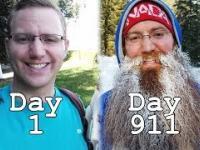Efekt 911 dni zapuszczania brody