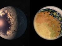 Planety 'Gałki Oczne' - Pierścień Życia i Wieczny Dzień