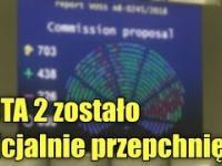 ACTA 2 przepchnięte! Parlament Europejski przegłosował cenzurę w Internecie
