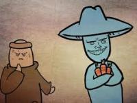 Kawał o mnichu i złodzieju marchewek