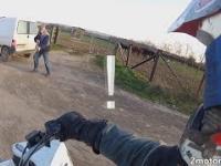 Wściekli i Głupi Ludzie vs Motocykliści 12 Kozak z BMW i Próba kradzieży motocykla