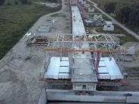 Budowa Mostu Południowego w Warszawie - Fragment POW