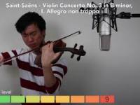 12 stopni trudności w grze na skrzypcach
