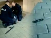 Policjanci obezwładnili nożownika we Wrocławiu