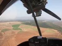 Poważna awaria silnika podczas lotu samolotem