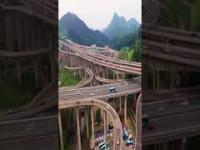 Jeden z najbardziej skomplikowanych węzłów w Chinach