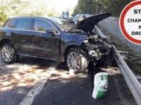 Śmiertelny wypadek na Słowacji z udziałem Ferrari i Porsche z Polski
