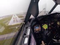 Lądowanie podczas silnego wiatru bocznego